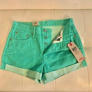 COPY - Levi's 501 Mid Rise Shorts